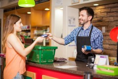 consummating a consumer transaction with a credit card