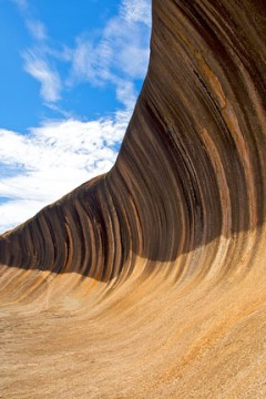 wave rock formation, western australia