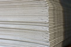 Stack of Printed Newspapers
